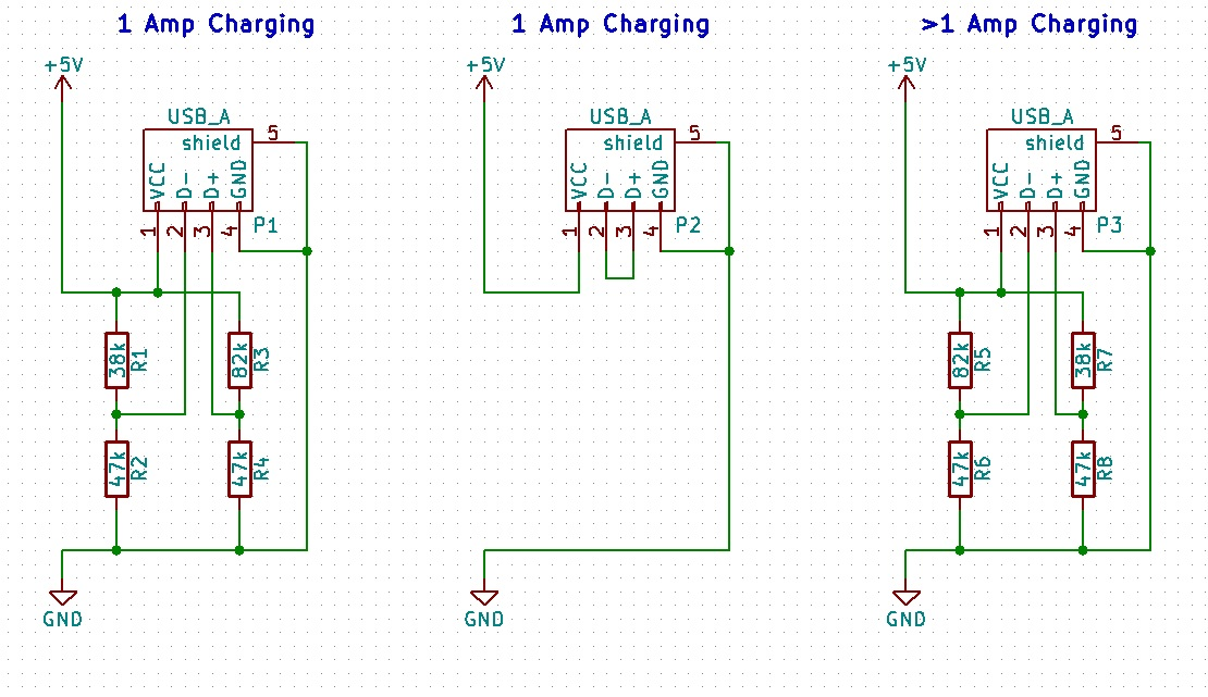 build your own super fast iphone and ipad charger surfncircuits rh surfncircuits com USB Cable Pinout Diagram usb phone charger circuit schematic