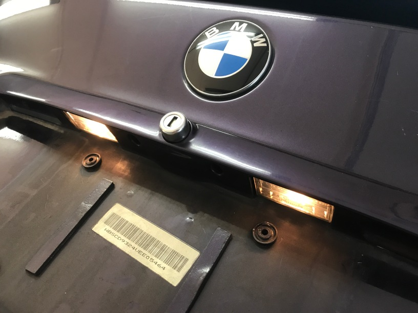 Bmw m3 e36 license plate light repair hack surfncircuits bmw m3 e36 license plate light repair hack asfbconference2016 Image collections