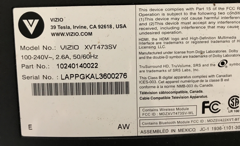 A 25 Second Heat Gun Repair of a VIZIO 47in LCD TV – surfncircuits