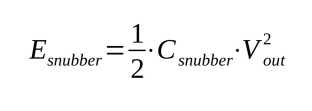 E_snubber_equation
