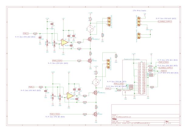 nixiebargraphhat Raspberry Pi Zero Schematic Diagram on touch screen display, camera module v1, robot draft, 0w ram, arpi600 for, autodesk eagle, camera module housing, motor shield,